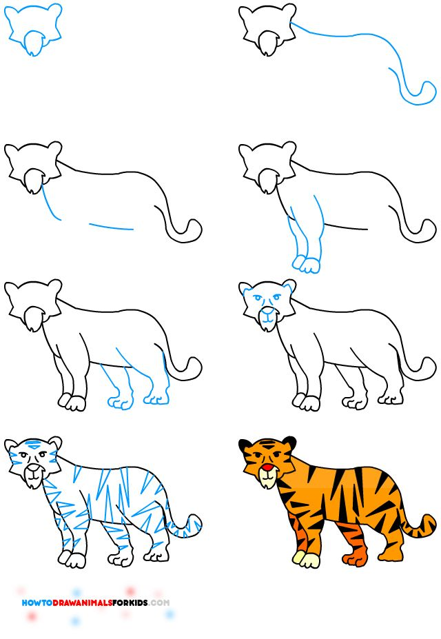 Drawn child Handy animals draw able by