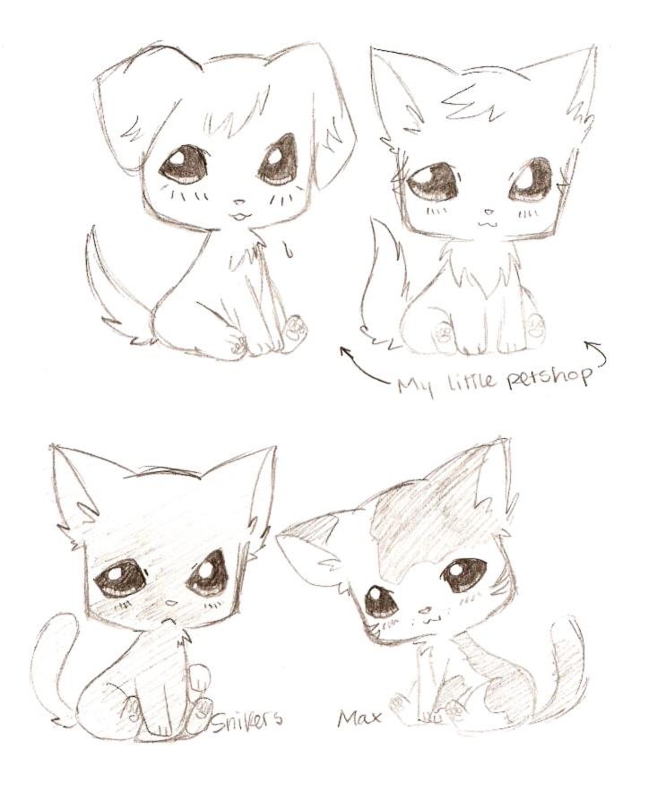 Drawn rodent white background Chibi Animals Chibi 3 Kawaii+animal+drawing