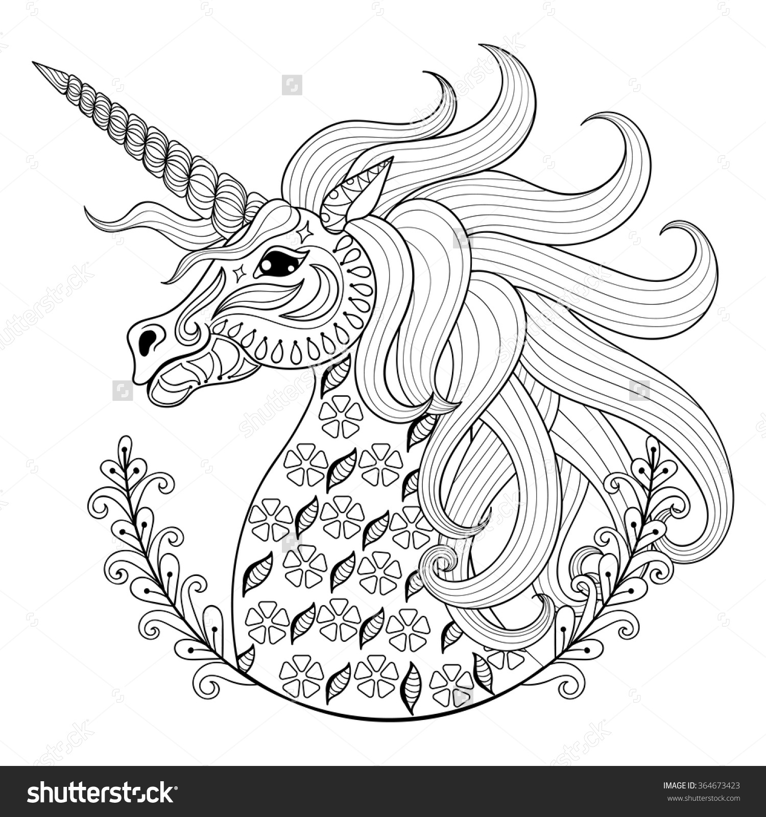 Drawn animl color Coloring Page Coloring Drawn Hand