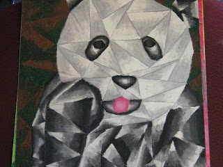 Drawn animal cubist #14