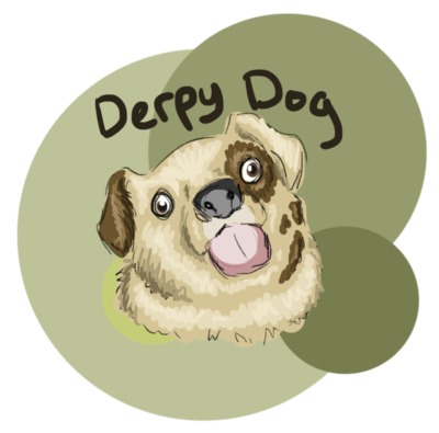 Drawn pug tiny Derpy Dog Derpy by TamHorse