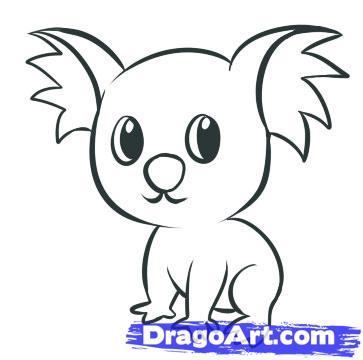 Drawn animal dragoart #13