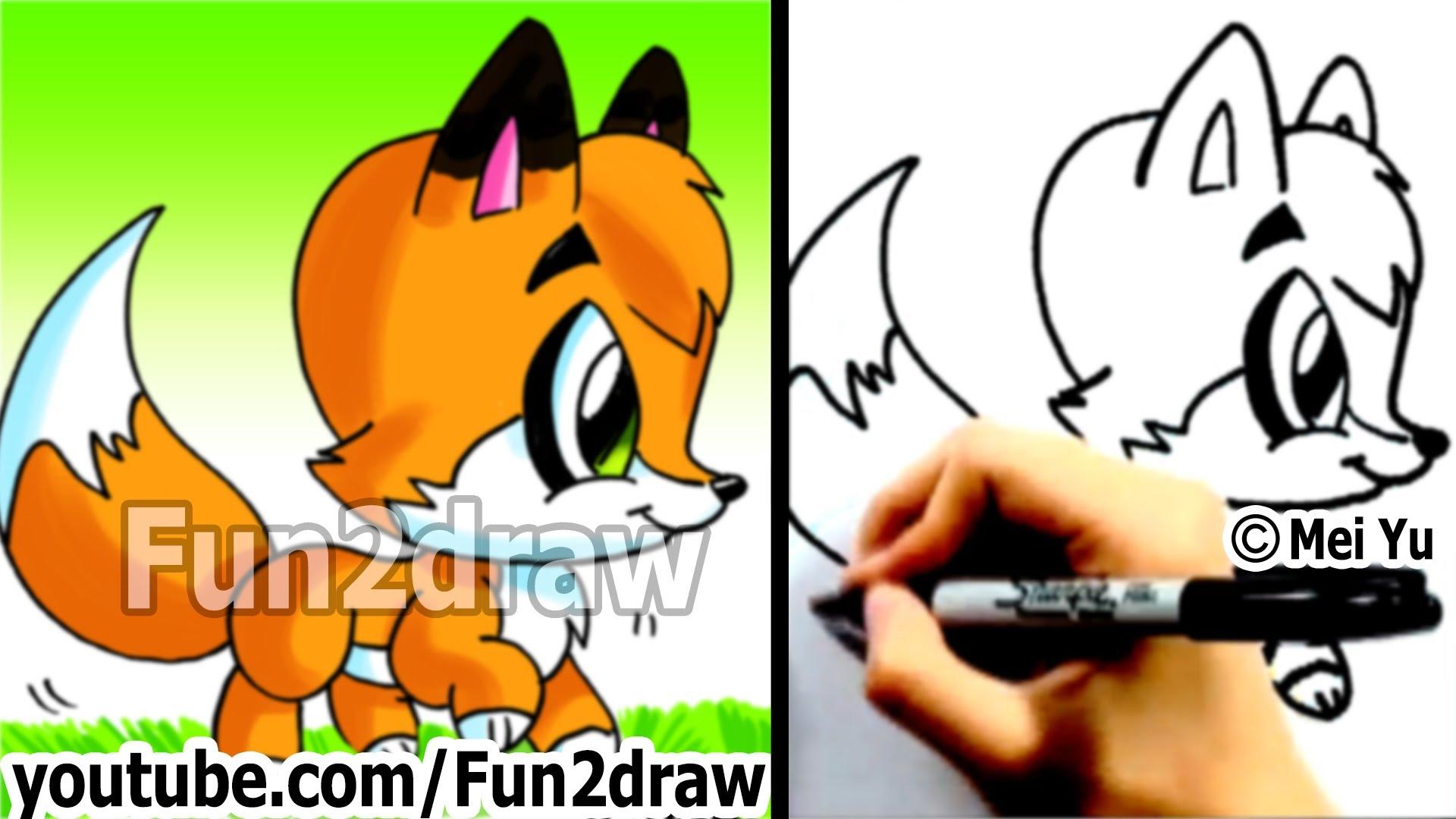 Drawn red panda really Fox a Draw Drawings Fox
