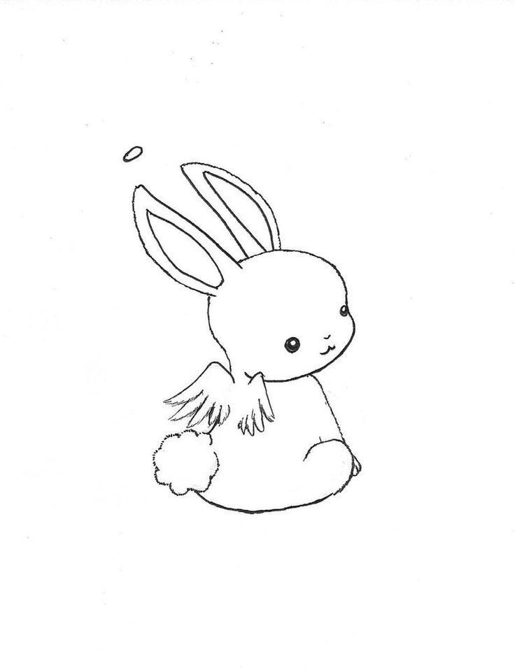 Drawn animl kawaii DeviantART best 34 Bunny images