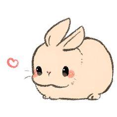 Drawn animl kawaii Google Pinteres… … kawaii Bunny