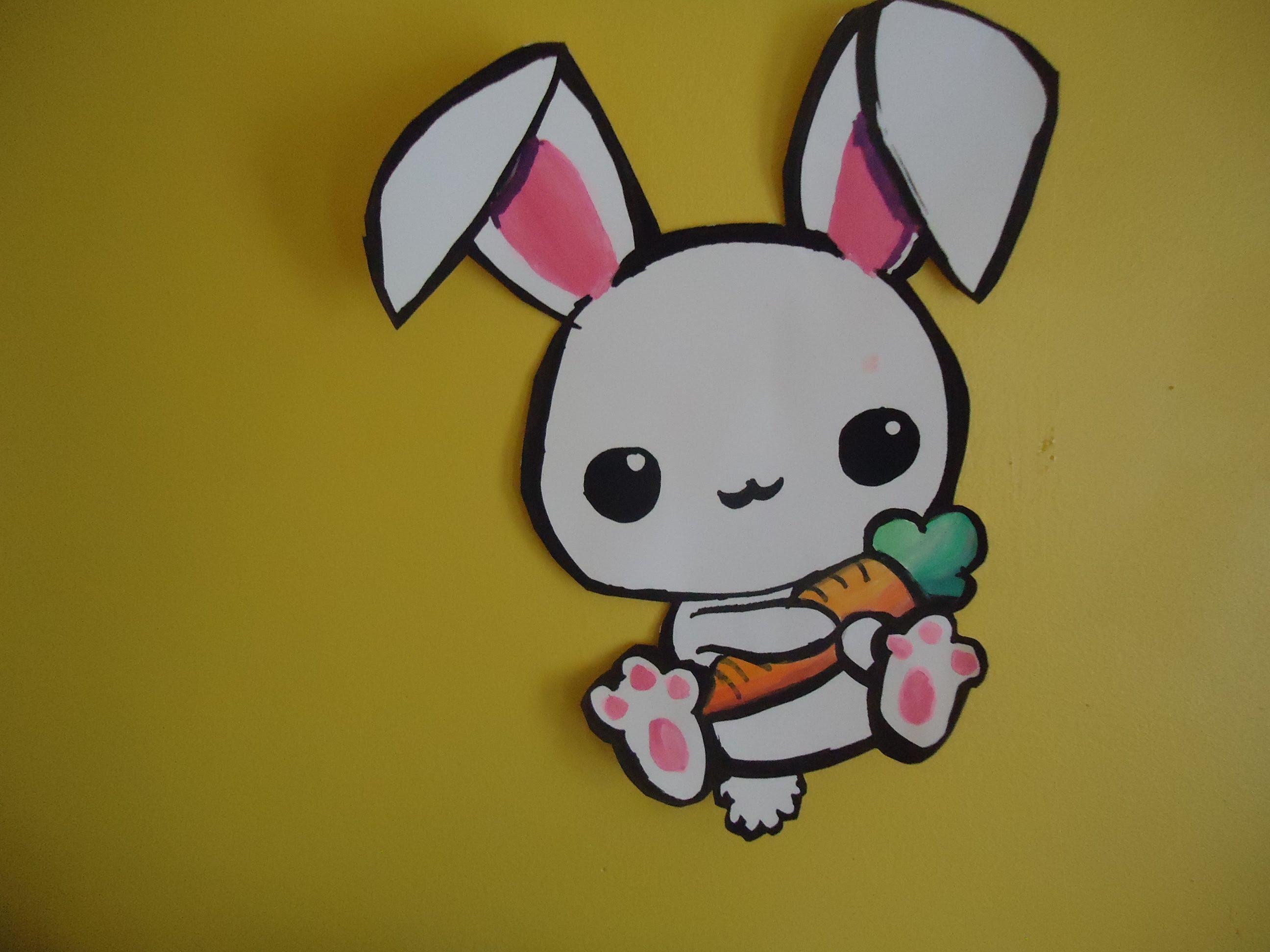Drawn rabbit cute Draw to chan (Bunny) kawaii
