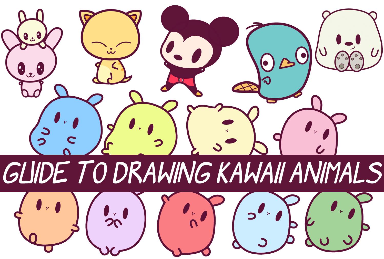Drawn animl kawaii Part : 2 Draw Cute