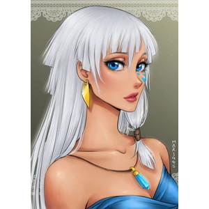 Drawn anime disney princess I I Draw Polyvore Princesses