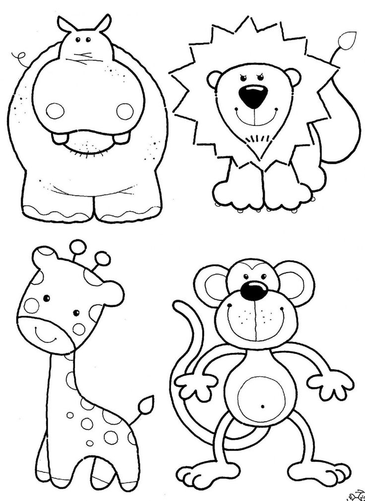 Drawn rainforest cartoon Coloring #15 coloring coloring Animl