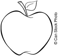 Drawn apple #2