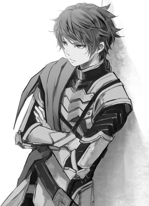 Drawn armor male anime Nice Best on hairstyles boy