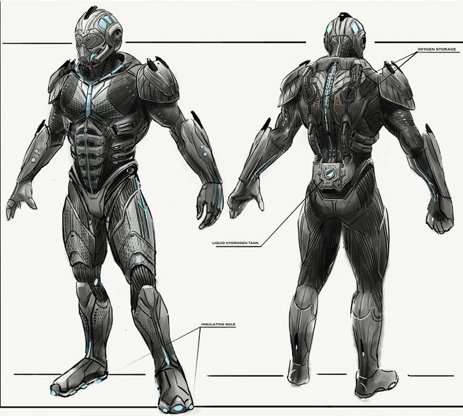 Drawn armor powerful On Pinterest ideas Space and