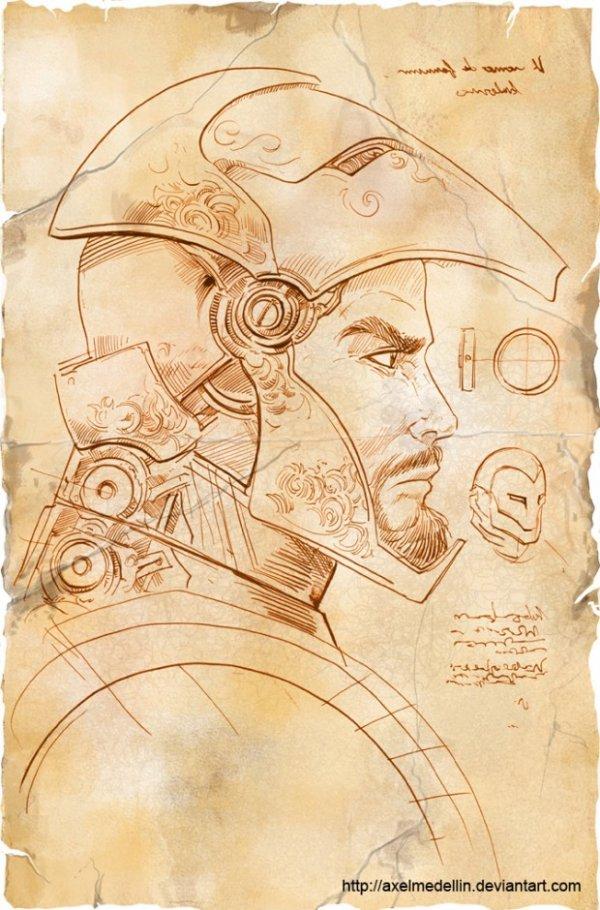 Drawn armor powerful #4