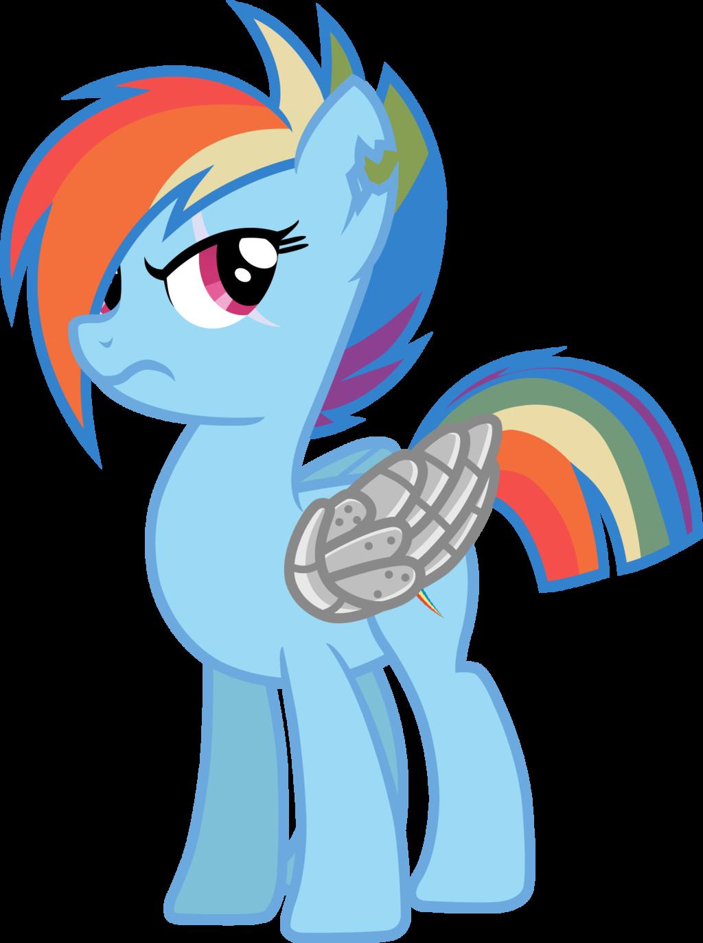 Drawn armor rainbow #14