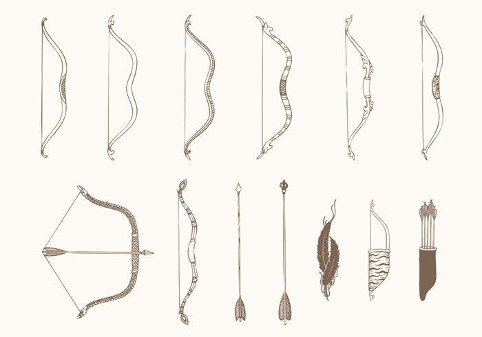 Drawn arrow archery #10