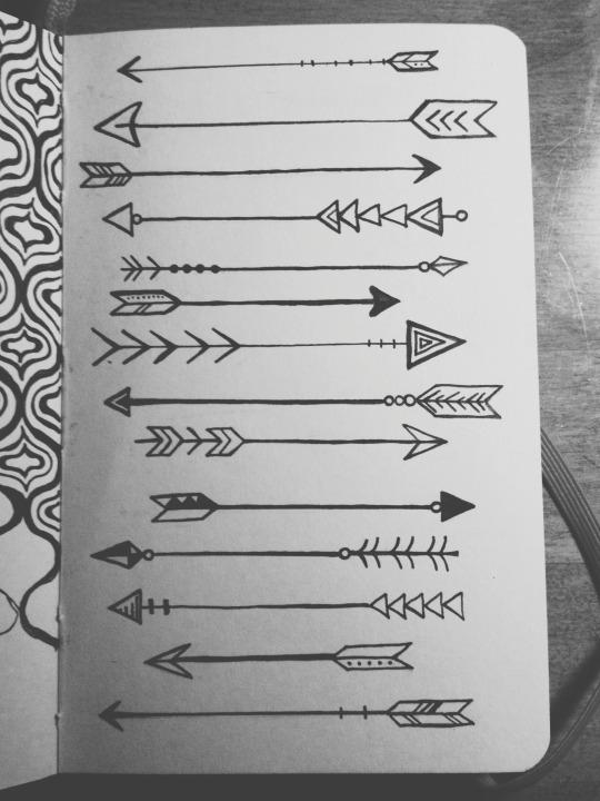 Drawn arrow artsy Drawing Arrow  and LAUREN