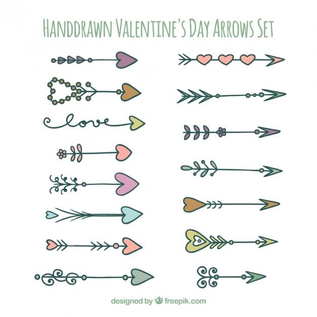 Drawn arrow artsy 138 Vector images best Pinterest