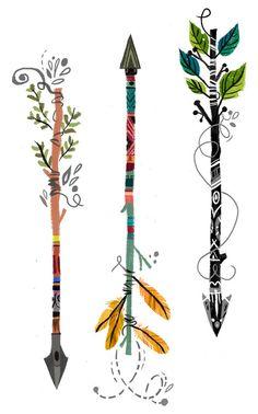 Drawn arrow artsy // graphics Download Free Arrow