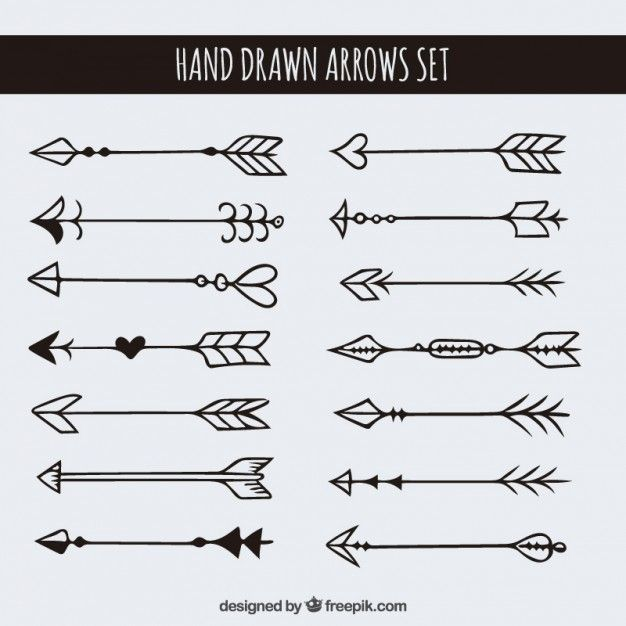 Drawn arrow cute #8