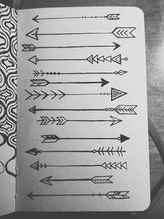 Drawn arrow fun Arrows arrow on microns Drawn