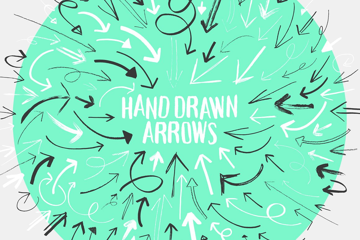 Drawn arrow handmade Themes Arrow Market Photos Collection