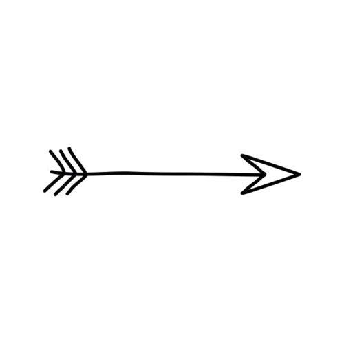 Drawn arrow overlays 106 on Tumblr Transparent images