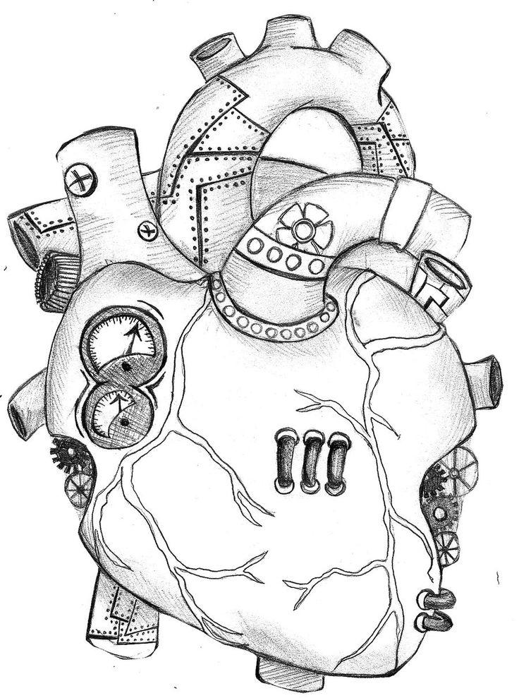 Drawn katana mechanical #11