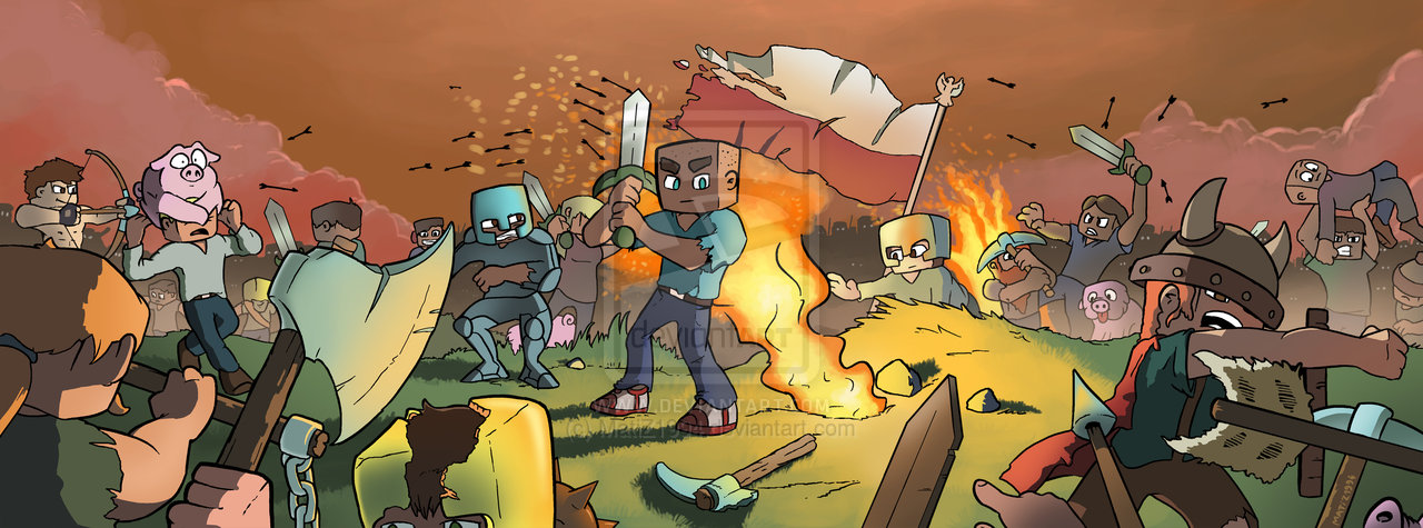 Drawn minecraft simple Banner Forums And Requests
