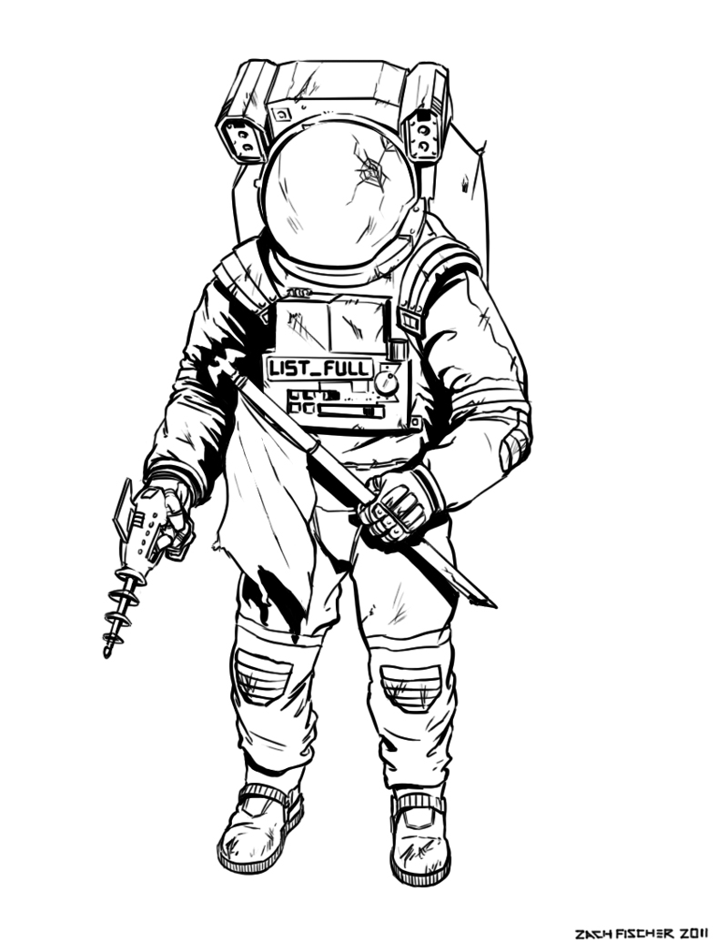 Drawn astronaut Google Pinterest draw easy Search