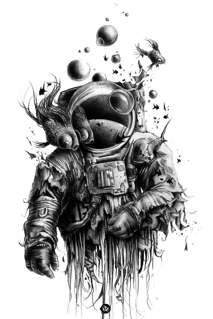 Drawn space black and white Bubbaldrin best Pinterest 226 images