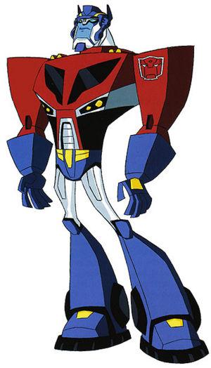 Drawn axe animated Prime Optimus (Animated) Wiki Transformers