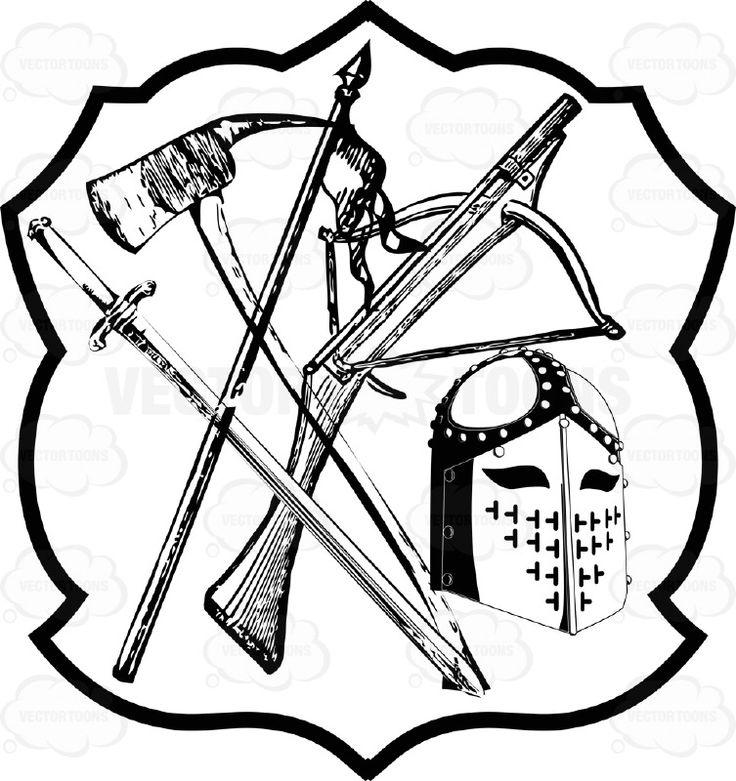Drawn axe heraldic Images Vaakunat Knight's Sword Of