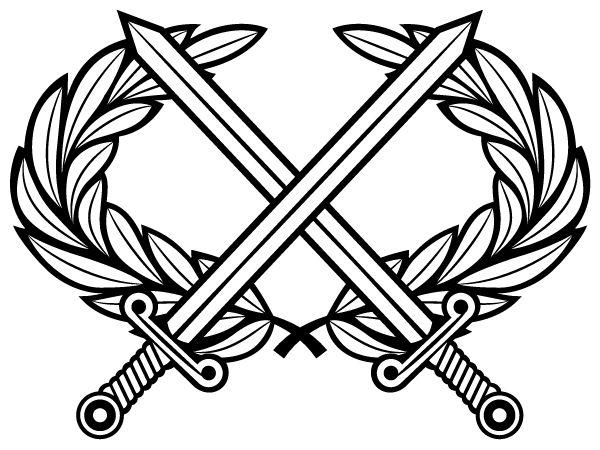 Drawn axe heraldic On Heraldry 69 Laurel best