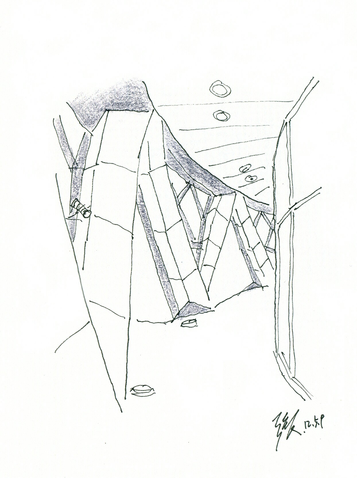 Drawn axe sketch At Aerin Norman by and