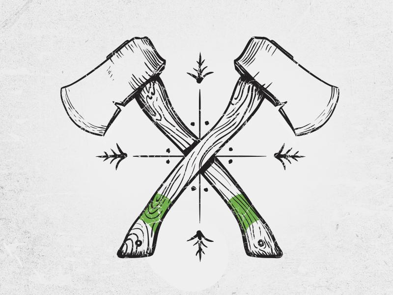 Drawn axe sketch Best on stuff 930 Pinterest