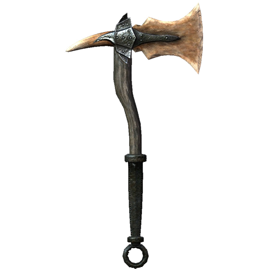 Drawn axe skyrim one handed And Dragonbone Axe Fantasy War