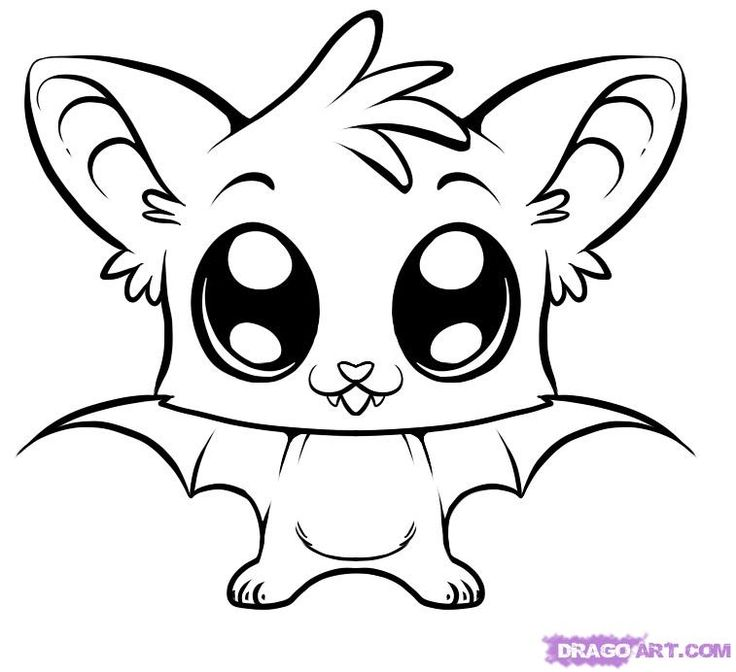 Drawn ice cream cute Cute draw bat how pages