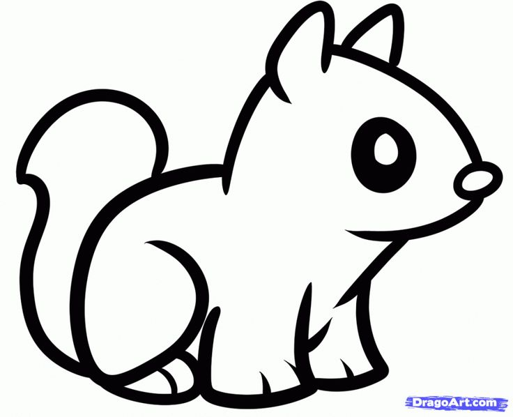 Drawn baby animal Pinterest only Easy To For