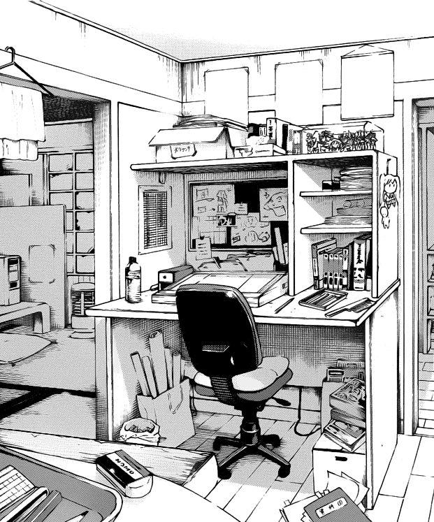 Drawn background anime #12