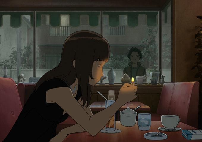 Drawn background anime #10