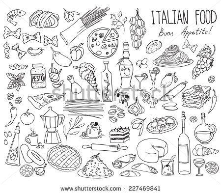 Drawn food simple #13