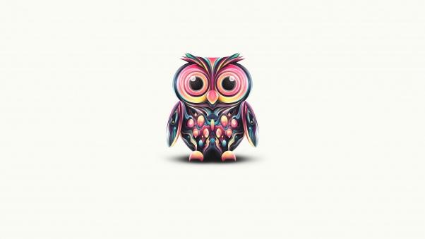Drawn background desktop 5907878 HQFX Tiffaney Owl Wide