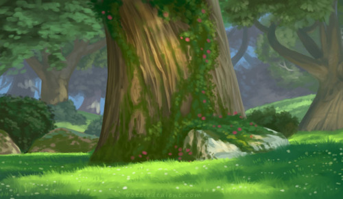 Drawn background forest In tangled tangled tangled pictures