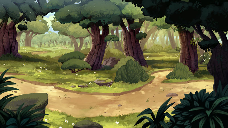 Drawn background forest On images 31  best