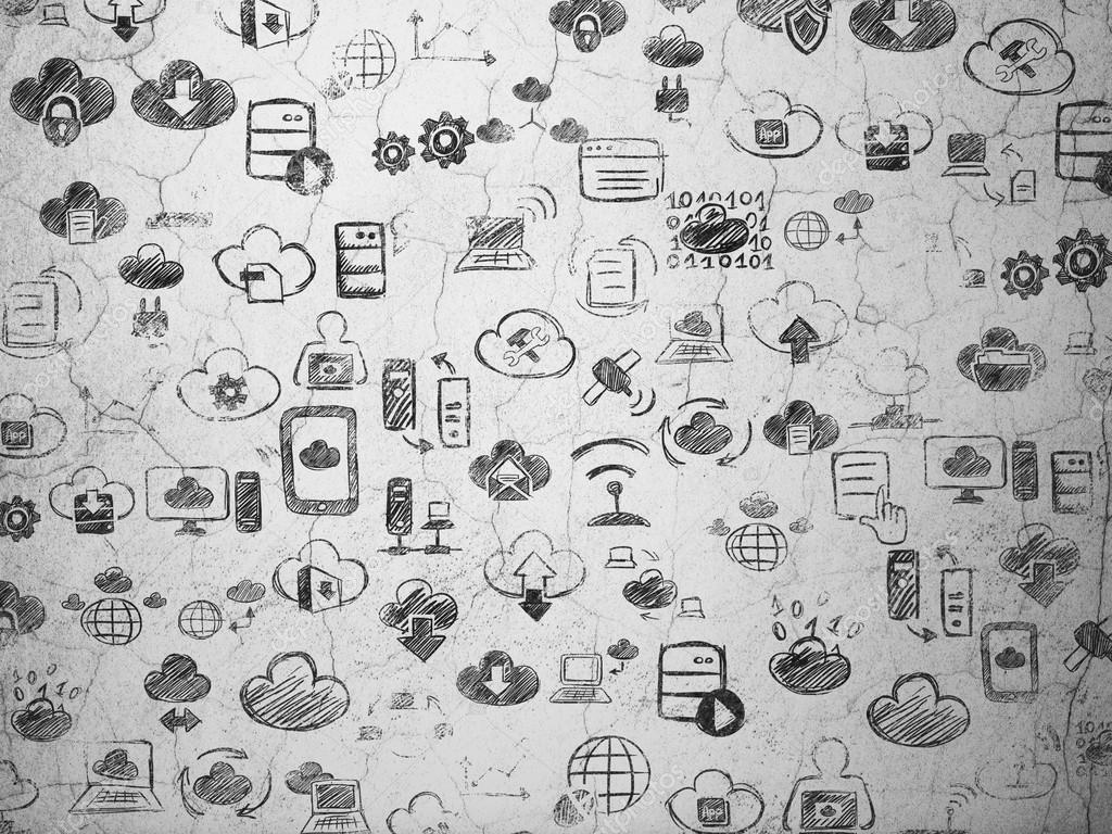 Drawn background wall texture Background: texture wall wall Grunge