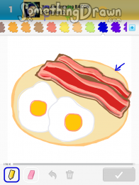 Drawn bacon Draw Bacon drawings com Something