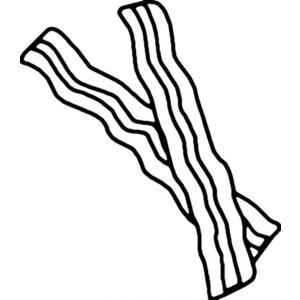 Drawn bacon Stencilry bacon bacon food stencilry