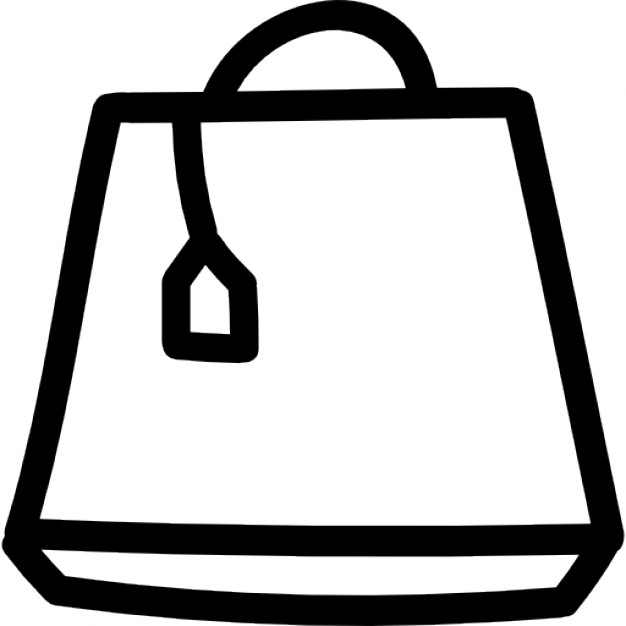 Drawn bag Icon Download variant Icons hand