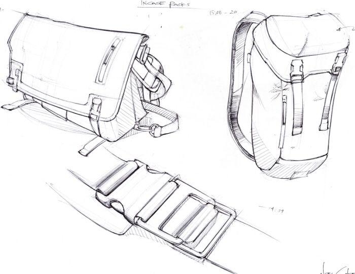 Drawn bag Images Bag 46 Product Sketching