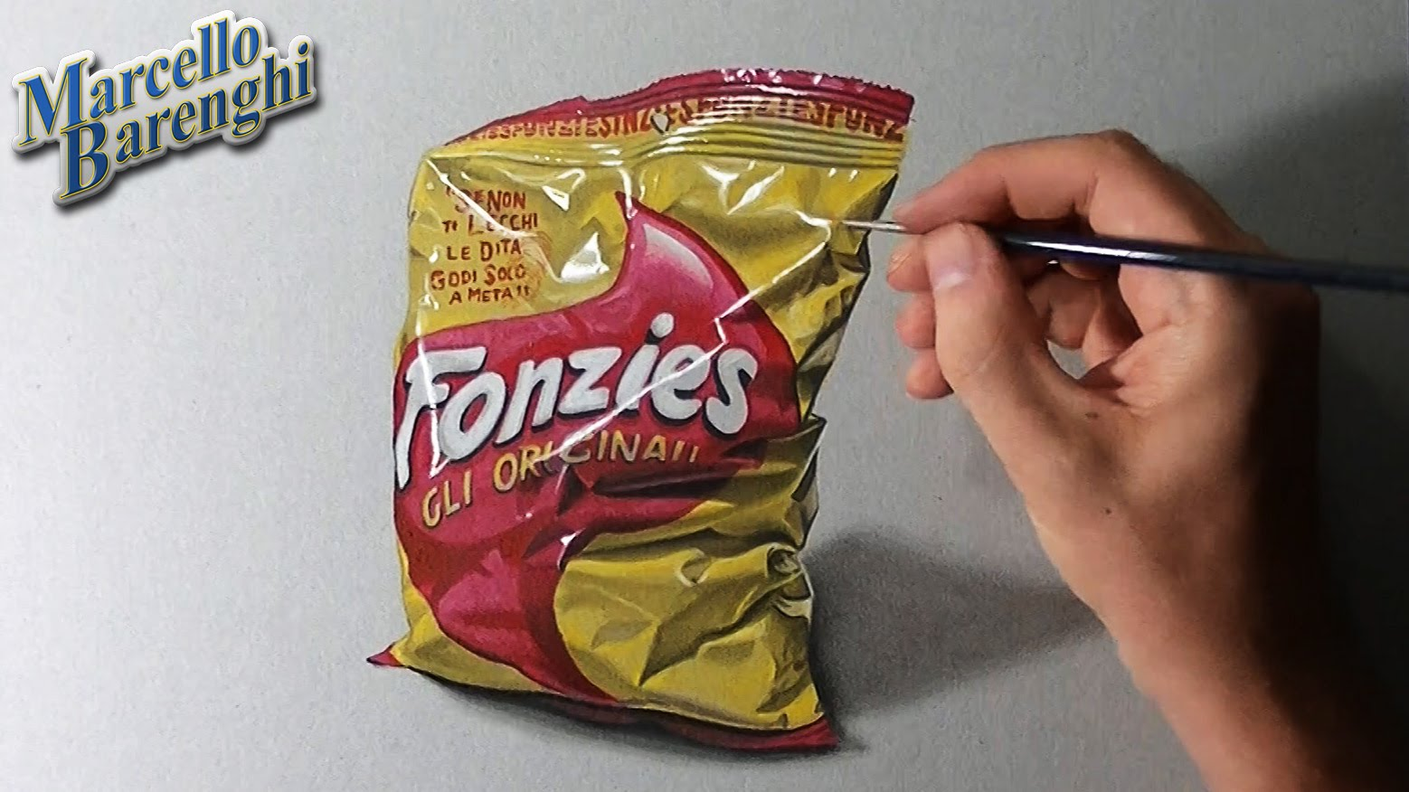 Drawn bag Chip color draw  to